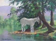 Paul Émile PISSARRO (1884-1972) - Le Cheval Blanc