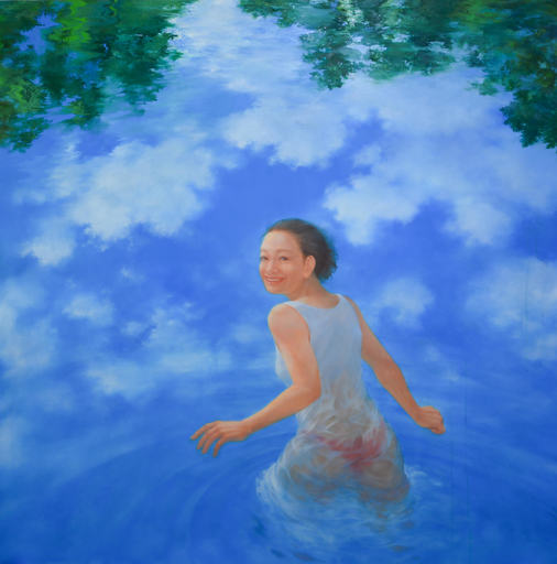Hiromi SENGOKU - Painting - Tracing a river to its source, you will find yourself in the