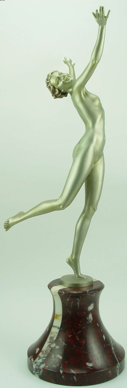 "Johann Philipp Ferdinand PREISS - Escultura - ""Summers Day"""