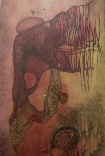 Fred DEUX - Drawing-Watercolor - PRELUDE  ET FUGUE _DESSIN BIEN TEMPOREL