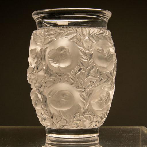 René LALIQUE - Vase en Cristal René Lalique