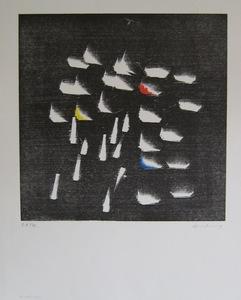 Hans HARTUNG - Estampe-Multiple - LITHOGRAPHIE SIGNÉE CRAYON NUM /XV HANDSIGNED LIT