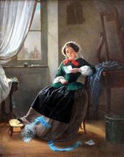 Hippolyte COTE - Peinture - le billet