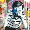 MR BRAINWASH - Pintura - Smile!