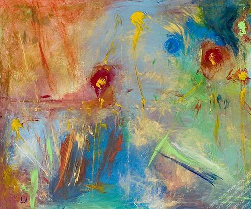 Laura VIZZARDI - Painting - Arcobaleno