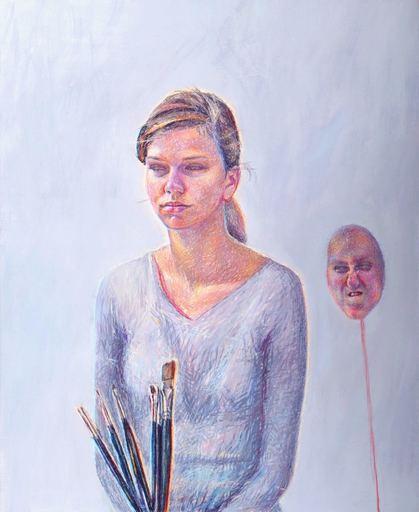 Catherine COCHY DE MONCAN - Peinture - Réponse