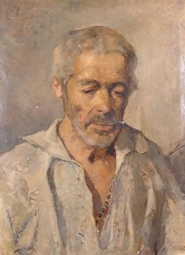 Vicente MARCH Y MARCO - Peinture - Herrenportrait, Portrait