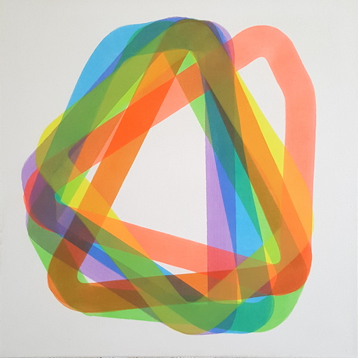 Frederic BOUFFANDEAU - Painting - Sans titre - P 007