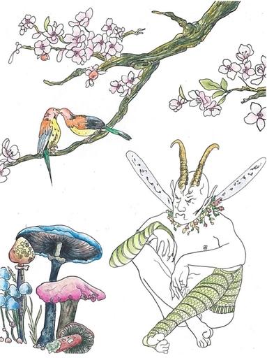 拉比克·肖 - 版画 - Midsummer NIght`s Dream