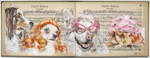 Kristin KOLB - Painting - Figaros Hochzeit