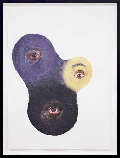 Tony OURSLER - Gemälde - Groft