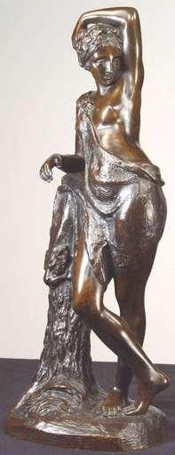 Théodore GECHTER - Sculpture-Volume - Pair of Allegorical Nudes