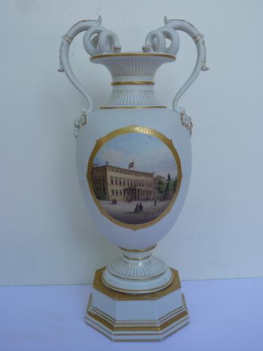 KPM, Vase de la Reine Augusta de Prusse