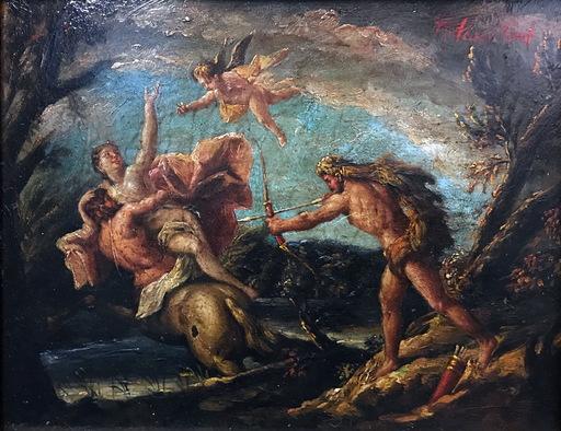 Ramon PARADA JUSTEL - Peinture - MITOLOGICO