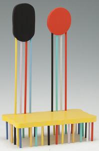 Sadamasa MOTONAGA - Escultura - Two backs of chair