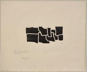 Eduardo CHILLIDA - Estampe-Multiple - Oin-Hatz I