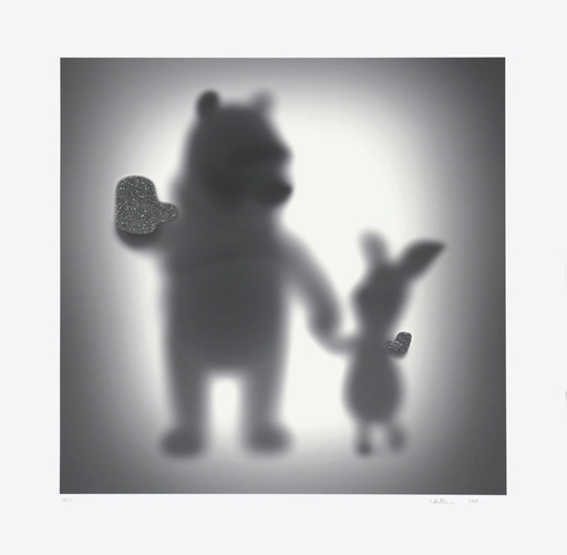 Sebastian BURDON - Estampe-Multiple - The Bear and the Pig (Special Edition)