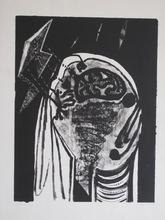 Jean PIAUBERT - Grabado - LITHOGRAPHIE SIGNÉE CRAYON NUM/48 HANDSIGNED LITHOGRAPH