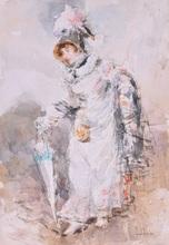 Giovanni BOLDINI - Drawing-Watercolor - Sin titulo