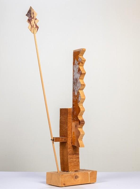 Enrico BAJ - Skulptur Volumen - Sentinella