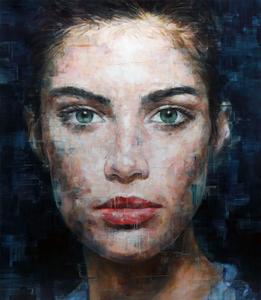 Harding MEYER - Painting - o.T. (17-2017)