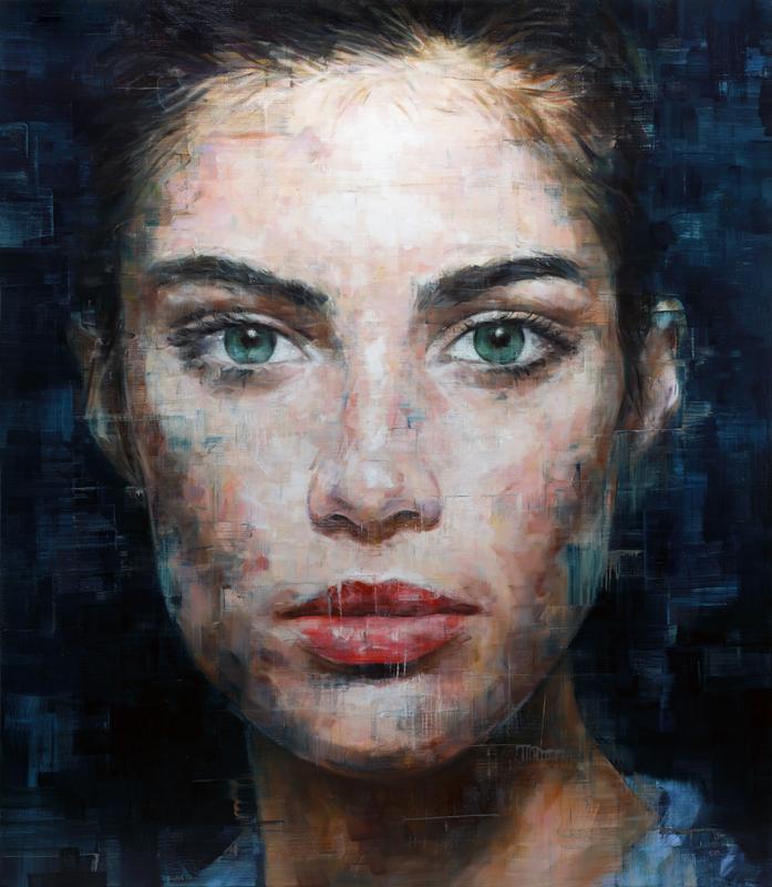 Harding MEYER - Gemälde - o.T. (17-2017)