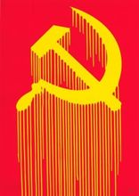 ZEVS - Painting - CCCP - Liquidated Hammer and Sickle