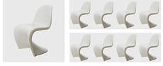 Verner PANTON - Ensmble de 6 panton chairs (c. 1970)