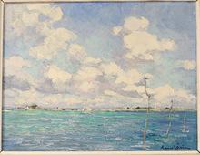 Louis GARIN - Painting - Golfe du Morbihan