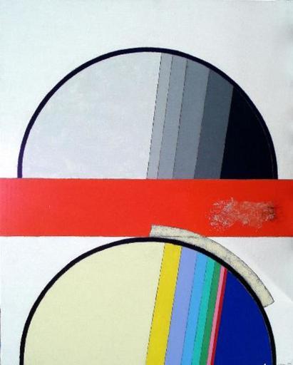 Eugenio CARMI - Painting - A chi dobbiamo credere?