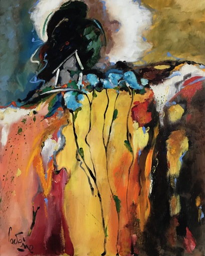 Bernard CADENE - Peinture - La cabane de nulle part