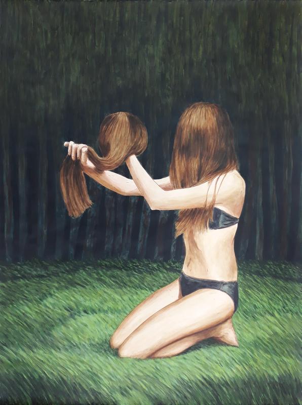 Erlend STEINER LOVISA - Painting - Janne 4    (Cat N° 6348)