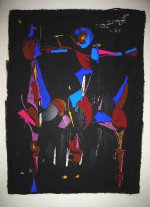 Marino MARINI - Print-Multiple - Bunter Reiter I