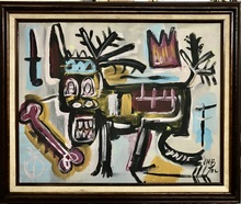 Jean-Michel BASQUIAT - Painting - Untitled