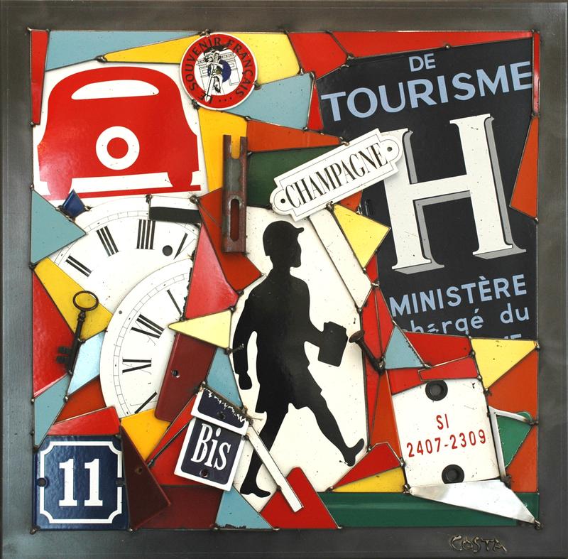 Fernando DA COSTA - Scultura Volume - Le Touriste