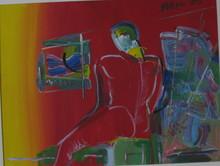 Peter MAX - Pintura - * Degas Man