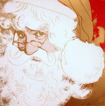Andy WARHOL - Estampe-Multiple - Santa Claus (FS II.266)