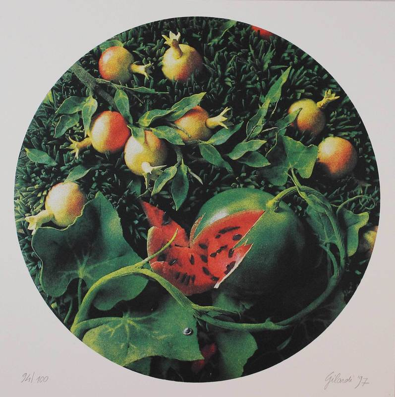 Piero GILARDI - Druckgrafik-Multiple - Untitled