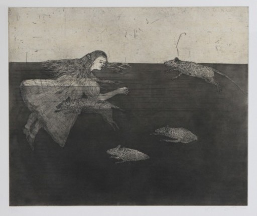 Kiki SMITH - Grabado - Pool of Tears 1