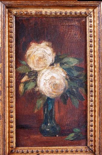Sarah MARSAULT - Pintura - Les roses blanches