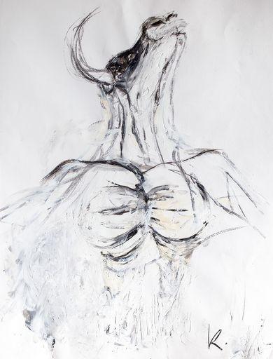 Guillaume KALT - Dibujo Acuarela - Minotaure    (Cat N° 6145)