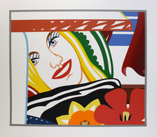Tom WESSELMANN - Grabado - Bedroom Painting #41