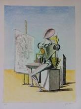 乔治•德•基里科 - 版画 - il pittore 1973