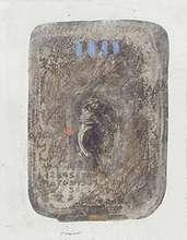 "James COIGNARD (1925-2008) - ""Les 4 bleus"""