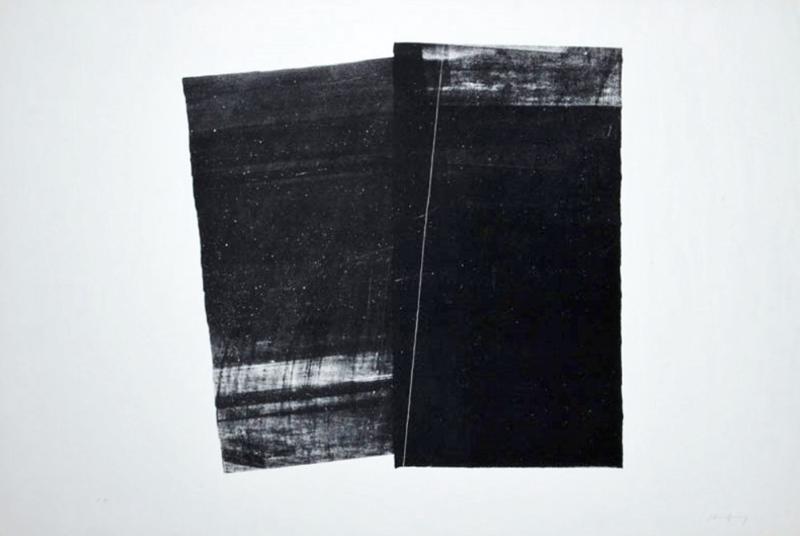 Hans HARTUNG - Estampe-Multiple -  From Farandole series, 1971