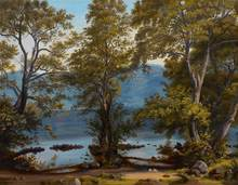 Thomas FEARNLEY - Painting - Am Nemisee.