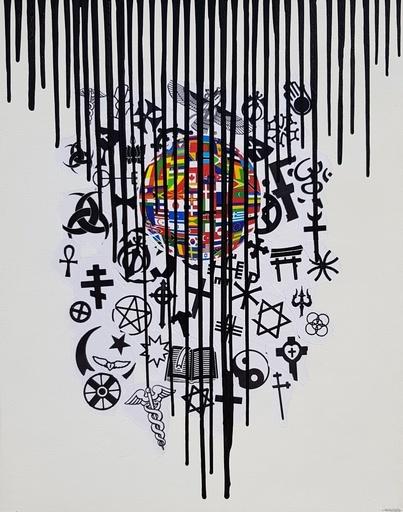 Giuseppe FORTUNATO - Painting - UNITED ?