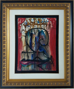 萨尔瓦多·达利 - 绘画 - The Marriage of Romeo & Juliet by Death