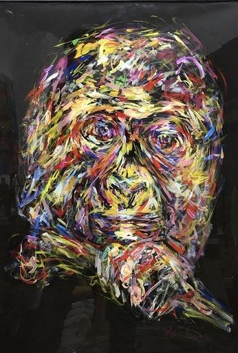 Nicole LEIDENFROST - Gemälde - Pink Monkey