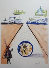 Salvador DALI - Print-Multiple - Imagination & Objects of the Future Intra-Uterine Paradisiac